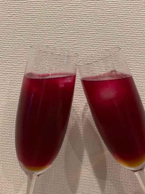 アレルギーを抑制する紫蘇ジュース